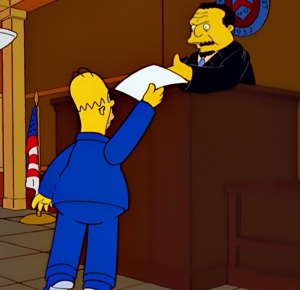 Homer Simpson becomes max power the Simpsons