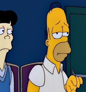 Homer Simpson goes to college the Simpsons
