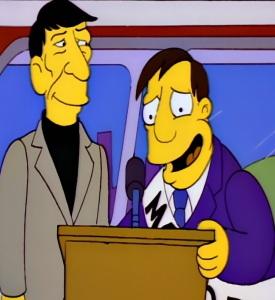 Leonard Nimoy the Simpsons cameo