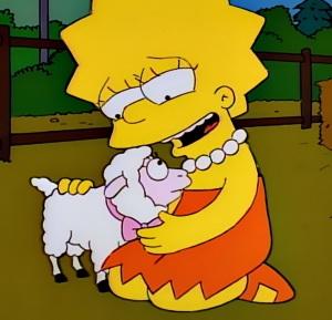 Lisa Simpson goes vegetarian the Simpsons