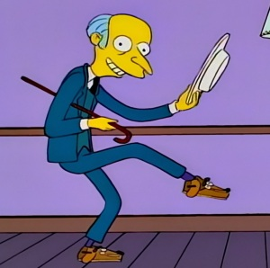 See my vest song c Montgomery burns the Simpsons
