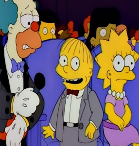 Ralph Wiggum Falls in Love with Lisa Simpson The Simpsons