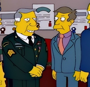 The real Seymour Skinner arrives in Springfield the Simpsons