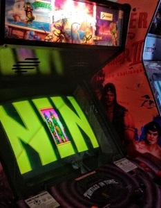 TMNT Turtles in Time arcade cabinet machine