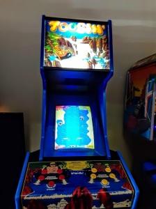 Toobin arcade machine Atari
