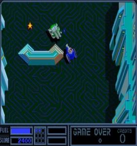 Vindicators Atari arcade game tanks