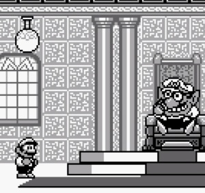 Wario first appearance Super Mario Land 2 Nintendo Gameboy