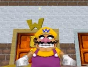 Wario and door Super Mario 64 DS Nintendo DS