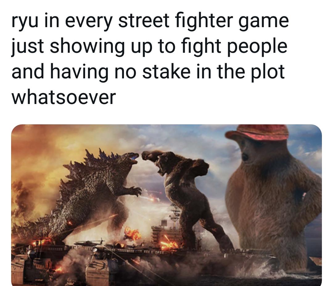 Memes Streetfighter Capcom