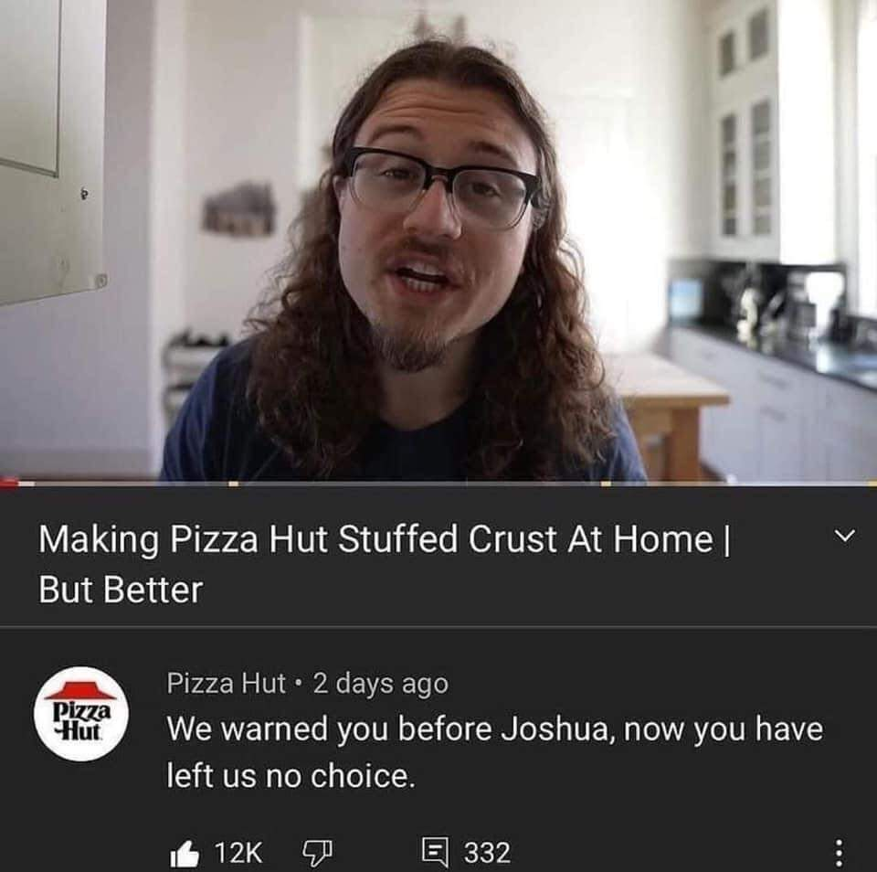 Memes  Copying the pizza hut recipe