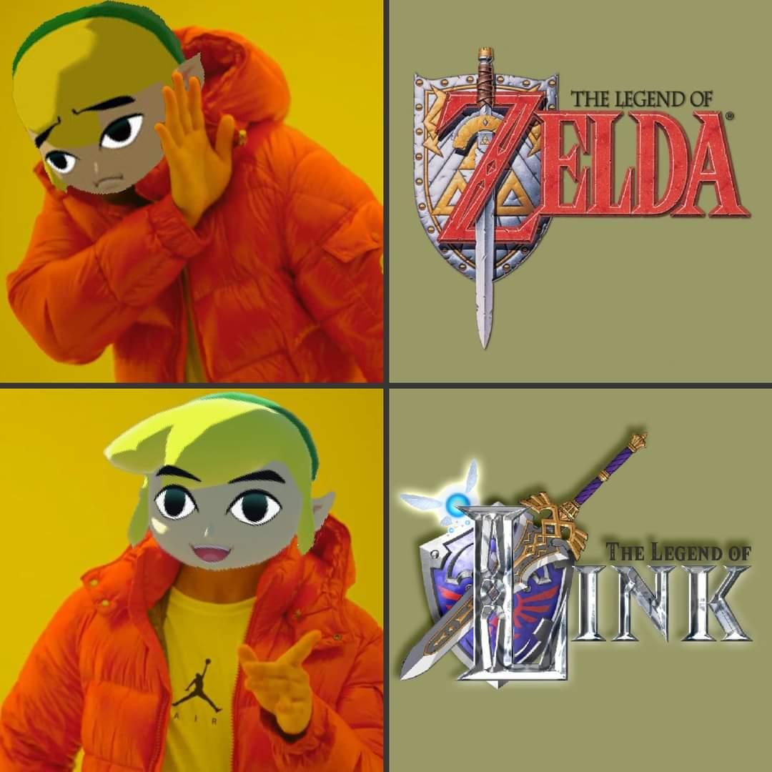 Memes The legend of Zelda or the legend of link