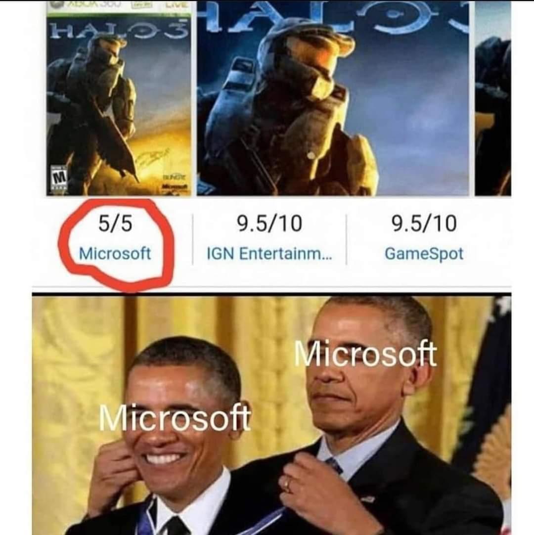 memes Microsoft Xbox halo three review