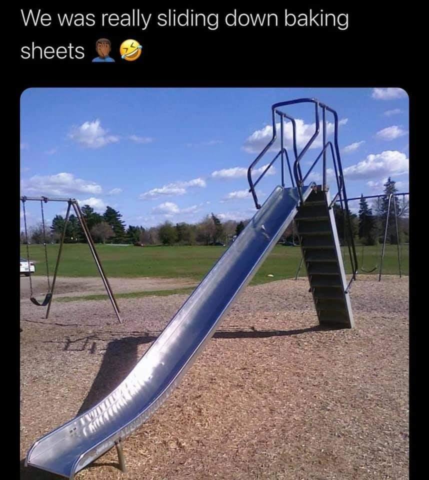 Memes Hot metal slide