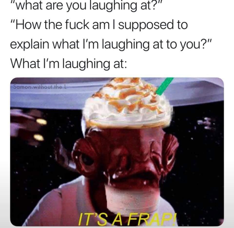 Memes Star Wars frappe