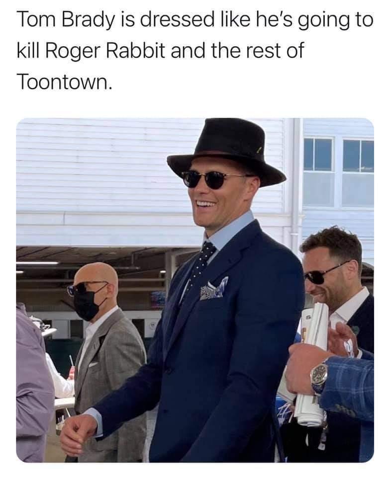 Memes Tom Brady who framed Roger rabbit
