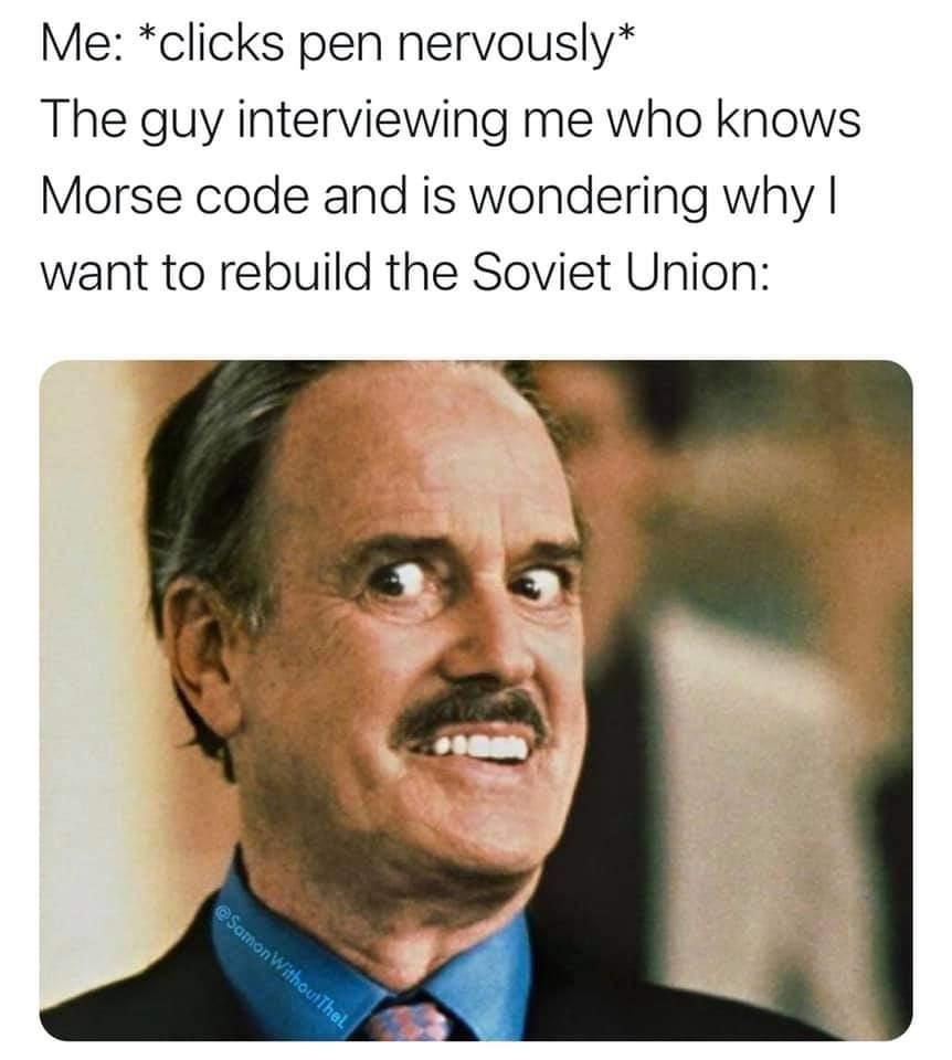 Memes rebuilding the Soviet Union