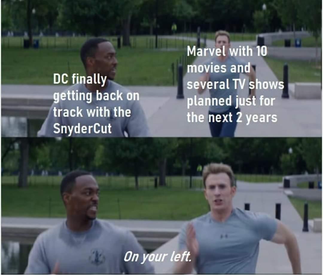 Memes Marvel versus DC comics movies