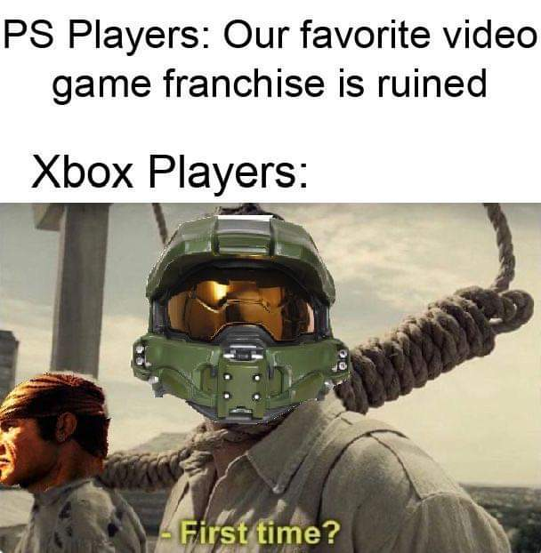 Memes Why Microsoft let halo be ruined