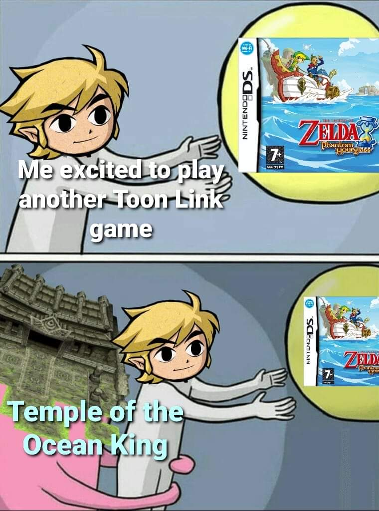 Memes The legend of Zelda phantom hourglass Nintendo DS