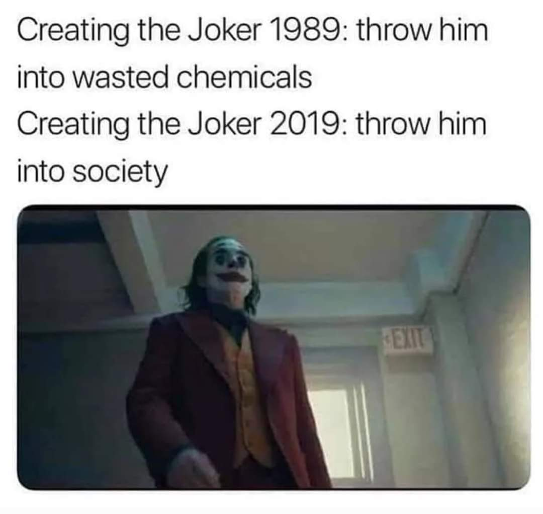 Memes joker 2019 movie