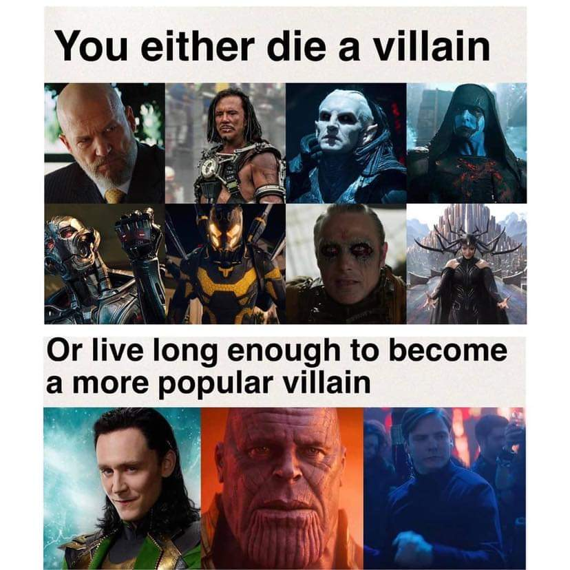 Memes The most popular villains of the Marvel cinematic universe