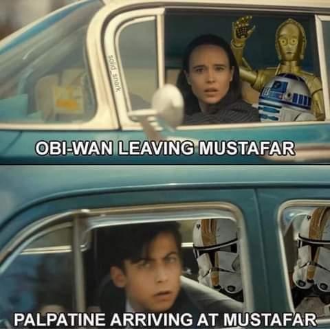 Memes Star Wars revenge of the Sith Obi-Wan Emperor Palpatine