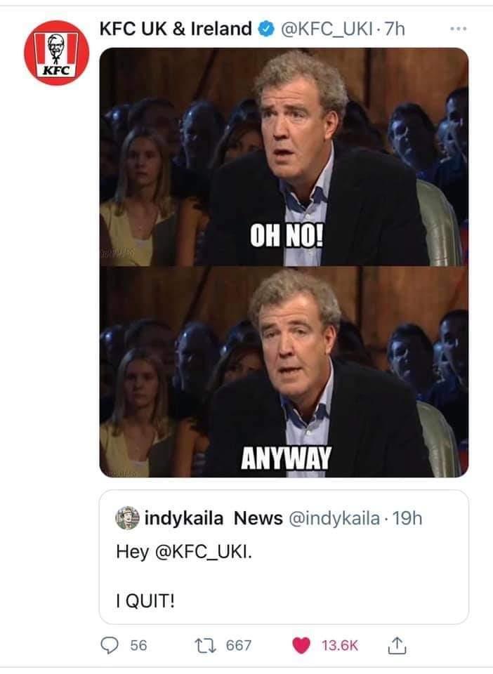 Memes KFC Kentucky fried chicken