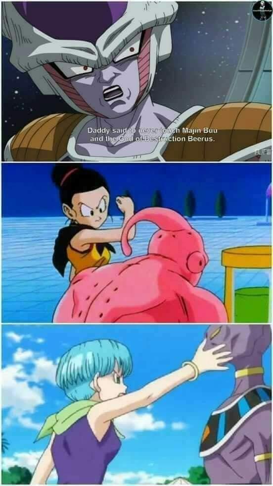 Memes dragon Ball Super freezer majin boo lord Beerus