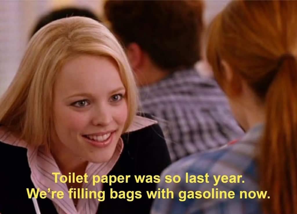 Memes Gasoline shortage panic