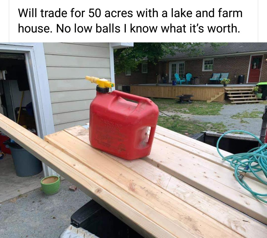 Memes gasoline and lumber shortage