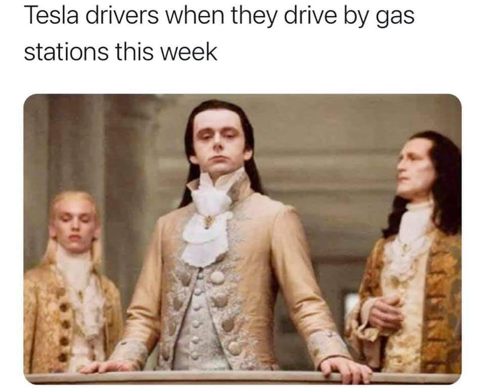 Memes Electric car drivers