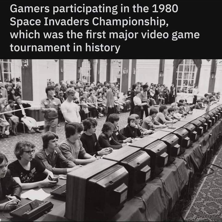 Memes video game history space invaders championship