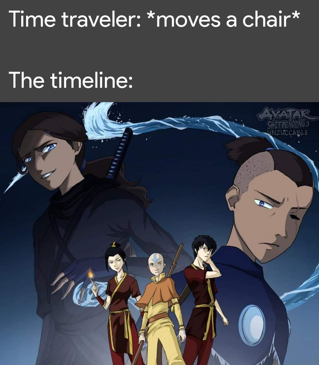 Memes alternate reality avatar the last Airbender