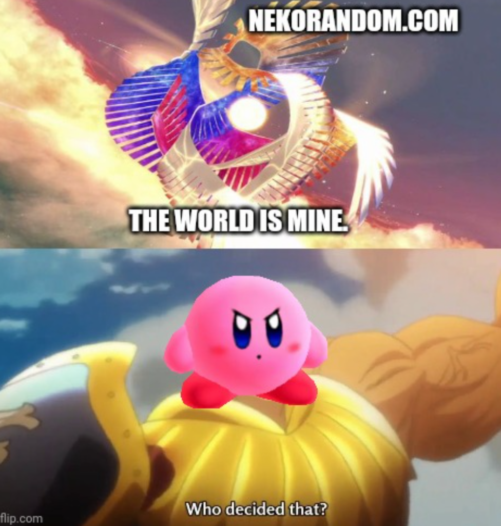 Memes Super smash bros ultimate Kirby saves the day