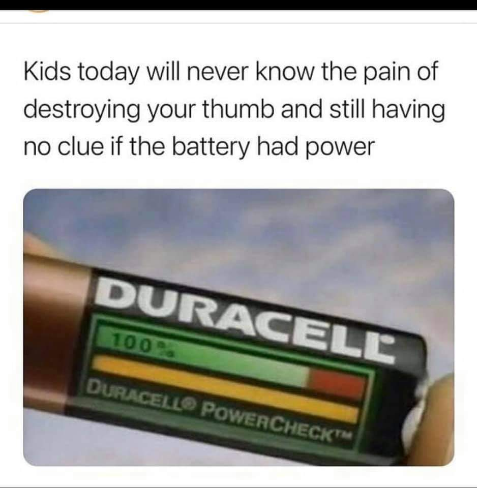 Memes Duracell batteries