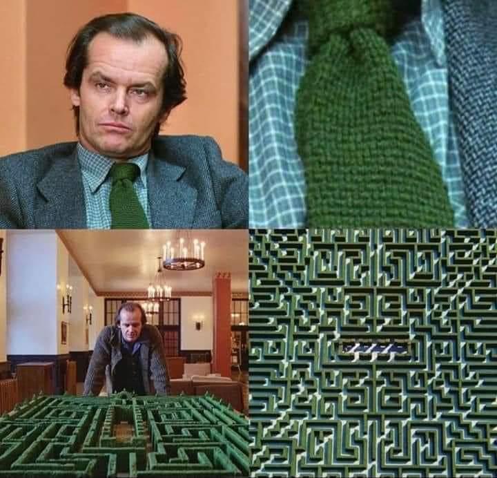Memes Jack Nicholson in the shining