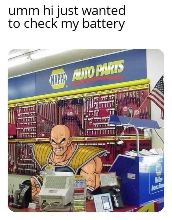 Memes napa  Dragon ball Z