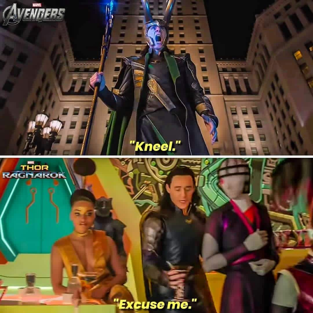 Memes Loki marvel Cinematic universe