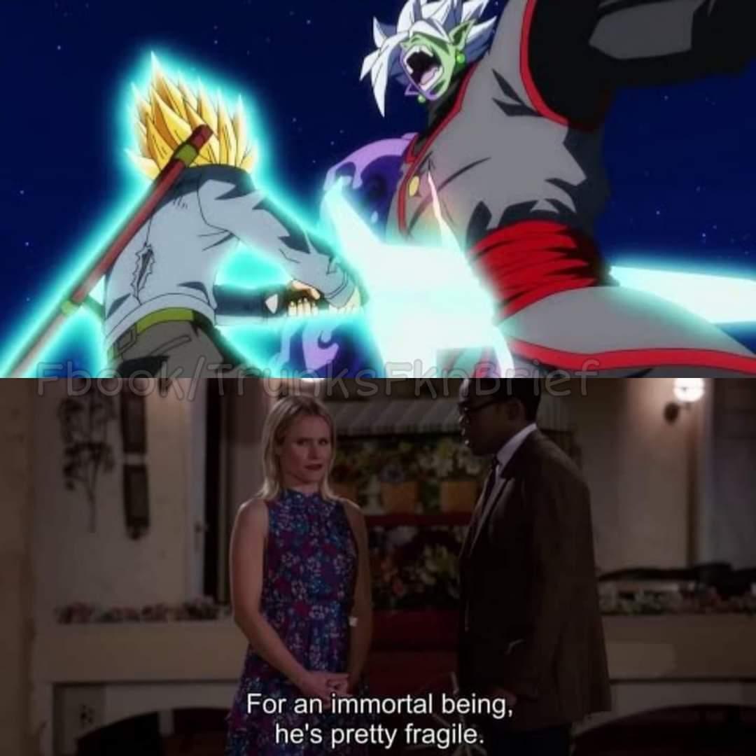 Memes zamasu goku black dragon Ball Super
