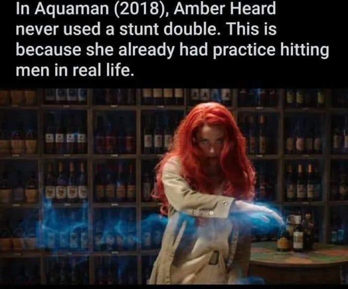 Memes Amber heard Aquaman