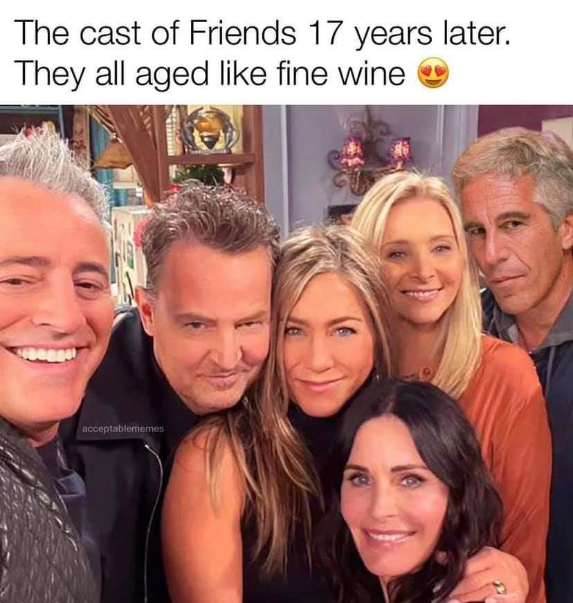 Memes The friends reunion