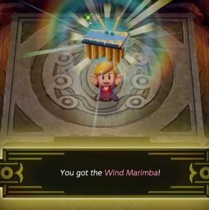 Wind Marimba instrument Slime Eel the Legend of Zelda Link's Awakening Nintendo Switch Remake