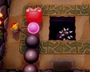 Slime Eel boss battle the Legend of Zelda Link's Awakening Nintendo Switch Remake