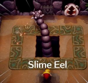 Slime Eel the Legend of Zelda Link's Awakening Nintendo Switch Remake