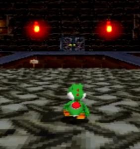 Yoshi and boo castle Super Mario 64 DS Nintendo DS