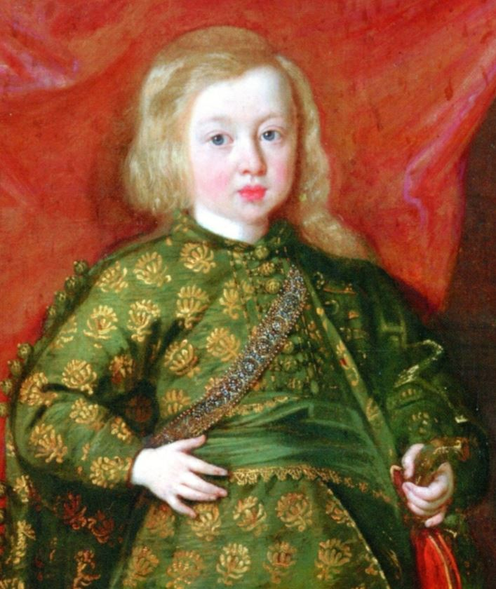 Celtic blonde child