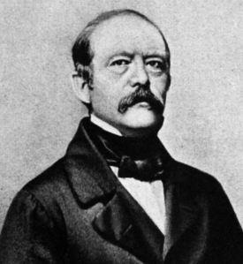 Otto Von Bismarck young politician