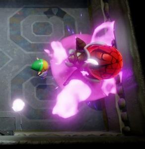 Hardhit Beetle defeated Link's Awakening Nintendo Switch Remake