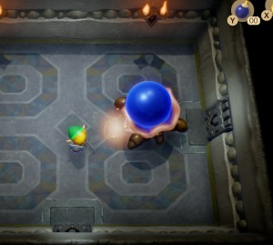 Hardhit Beetle boss battle Link's Awakening Nintendo Switch Remake