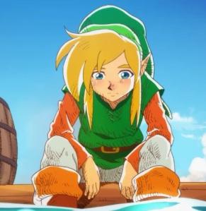Link being sad the Legend of Zelda Link's Awakening Nintendo Switch Remake ending